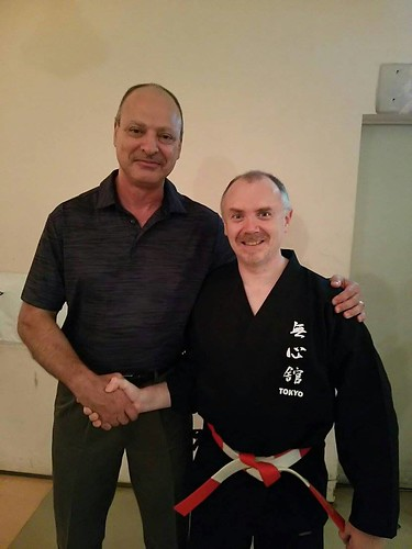 Celebrating My Friend Joe Swift Sensei's 15th Dojo Anniversary