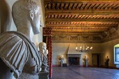 Sala dei cesari (SDB79) Tags: bracciano storia lazio castello odescalchi statua cesare roma romani sala interno turismo visit