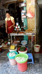 Lunch time (program monkey) Tags: vietnam hanoi oldquarter sidewalk tofu food