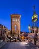 Paseo del Ovalo (Teruel) (dleiva) Tags: españa architecture del spain arquitectura torre ar edificio paseo aragon domingo teruel mudejar leiva ovalo dleiva