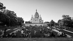Sacré-Cœur Basilica (_Viky_) Tags: saved paris france church skyline delete5 europe basilica delete delete4 montmartre eurotrip sacrécœur parisskyline minorbasilica sacrécœurbasilica