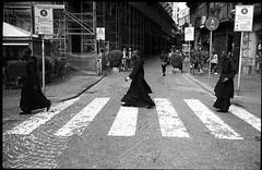 (Not in Abbey Road) (Robbie McIntosh) Tags: leica blackandwhite bw film monochrome analog 35mm kodak candid trix strangers streetphotography rangefinder bn summicron negative 400 analogue m2 biancoenero priests excel argentique zebras leicam2 dyi selfdeveloped pellicola kodaktrix400 analogico sunny16 nometering leicam filmisnotdead fomadon autaut leicasummicron35mmf20iv guessexposure fomadonexcel leicasummicron35mmf2iv summicron35mmf20iv fomadonexcelw27