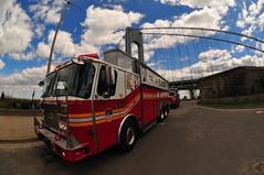 FDNY Rescue 5 (Triborough) Tags: nyc newyorkcity rescue ny newyork firetruck fireengine statenisland fdny richmondcounty eone fortwadsworth newyorkcityfiredepartment saulsbury rescue5
