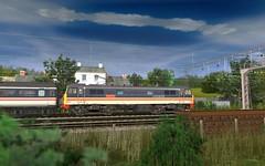 TANE 86416 Wigan pier (skodatrainz) Tags: br mk2 britishrail intercity trainz tane lmr wiganpier class86 25kv acelectric 86416 intercitymainline