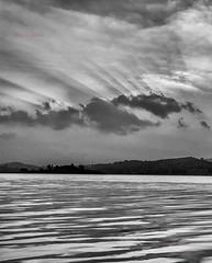 Dusk@Padwa (dr a k) Tags: sunset lake clouds dusk odisha