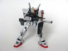 Gundam RX-178 MK II (ExclusivelyPlastic) Tags: anime mobile japan robot model hobby plastic suit figure kit build gundam zeta mecha mech