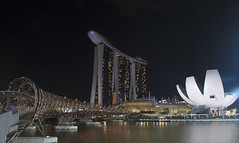 Singapur (www.andreas-spanjol.de) Tags: street city night marina bay nikon singapore asien nikkor sands singapur marinabaysands nikond800 nikkorafs2470