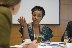 Lydia Sindisiwe Chikunga in discussion