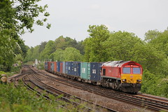 Photo of 66101 on 4O21 at Shawford 27/5/15