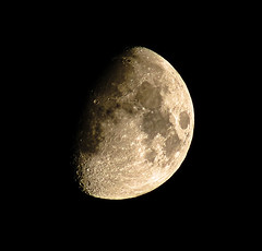 Waxing Moon 5-28-15 (theeqwlzr) Tags: moon nightlights outdoor crater astrophotography nightsky southerncalifornia canonrebelxti sandimascalifornia