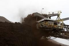 open-cast mining coal  tr_08765_result (Thomas Rossi Rassloff) Tags: deutschland energy energie mining coal brandenburg strom tagebau elektrizität braunkohle riese diese vattenfall germane welzow welzow–süd