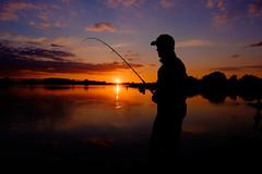 Sonnenuntergang an der Elbe (Jan7411) Tags: sunset sunrise river fishing wasser fluss strom atmosphre stimmung angeln