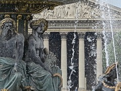 (dbeyly) Tags: placedelaconcorde paris fontainedesmers fontaine églisedelamadeleine
