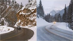 Different weather conditions, same continuous motion forward. #FrozenMoments #DiscoverySport #Colorado #Adventure #Travel Left Photo: @robstrok | Right Photo: @alliemtaylor - photo from landroverusa (landroverorlando) Tags: auto usa cars car orlando automobile florida united group rover land fields fl states autos landrover rangerover luxury automobiles wwwlandroverorlandocom