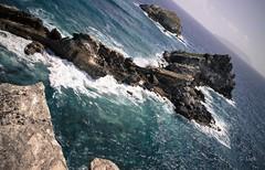 la Dsirade  l'horizon (Jack_from_Paris) Tags: leica sea mer nature colors landscape la couleurs des m bleu type pointe capture paysage mode vague isle rocher depuis lr guadeloupe 240 lightroom gwada le chteaux dng 11606 10770 nx2 dsirade leicaelmaritm28mmf28asph l1005181