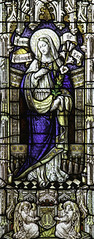 Our Lady of the Magnificat (Lawrence OP) Tags: church parish leeds minster anglican magnificat otherkeywords