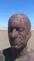Antony Crosby' Another Place (divnic) Tags: sculpture water statue liverpool boats head ships castiron mersey antonygormley merseyside irishsea anotherplace rivermersey crosbybeach liverpoolbay anotherplaceantonygormley metropolitanboroughofsefton