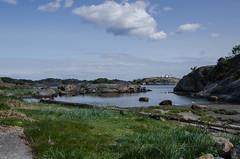 Beach (AstridWestvang) Tags: sea lighthouse rock coast larvik