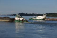 Vidin - Tugboats on Danube River (lyura183) Tags: river boat bulgaria tugboat danube donau vidin
