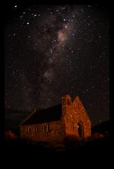 Galactic Kiwi (anakiwa_forever) Tags: 522016 522016week27 churchofthegoodshepherd galacticcore milkyway galactickiwi tekapo mackenziecountry stars astrophotography newzealand 116photoschallenge