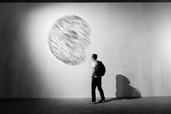 Le Palais des monteurs / Lena Andonova / Sans titre (Moon) (mahtieuc) Tags: paris france ledefrance fr palaisdetokyo lenaandonova lepalaisdesmonteurs