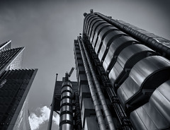 Lloyds of London (Michael's shots) Tags: lloyds london buildings metal tall insurance