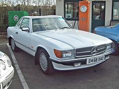 487 Mercedes 300SL R107 Roadster-Hardtop (1987) (robertknight16) Tags: mercedes germany 1980s sl sportscar r107 300sl bracq brooklands d458xao
