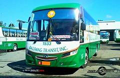 The return of Baliwag - Divisoria route. (PBF-Mr. Beeboy 901) Tags: baliwagtransitinc bti 1533 daewoobs106 santarosamotorworksinc de08tis doosan srcityliner pl5um52hdfk philippinebuses busphotography pinoybusfanatic pbf