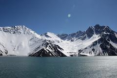 Del agua, los Andes y el cielo (Diego_Valdivia) Tags: embalse yeso andes nieve snow invierno winter dam santiago chile intothebike