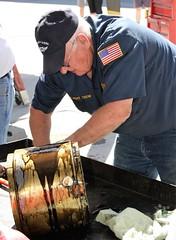 Aircraft Mechanic (breedlux) Tags: boeing b17 oilcooer mechanic tech engineer engine oil