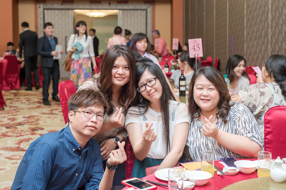 台南婚攝 情定婚宴城堡永康館 婚禮紀錄 C & V 111