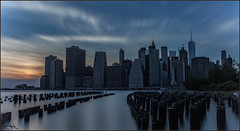 **DUSK @ THE STIX** (**THAT KID RICH**) Tags: richzoeller rich zoeller thatkidrich tkr wtc ny nyc newyorkcity manhattan stix buildings lowermanhattan river east sky clouds canon 5dm2 reflections sunset colors