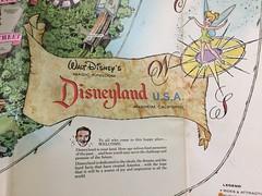 Disneyland Map Closeup (Retrolandia) Tags: disneyland 1960s