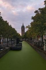 Delft (mustafacankutsal) Tags: bulutlar kanal aalar kule delft