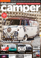 VW Camper and Commercial Issue 109 Cover (Eric Arnold Photography) Tags: vw volkswagen bus van camper commercial magazine feature cover panel cookie cookies roofrack ladder published canon80d 80d canon brown white lva lasvegasacademy vegas lasvegas dtlv downtown