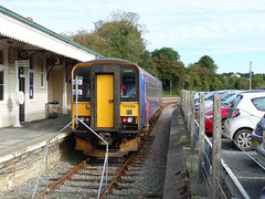 153380 Liskeard (1) (Marky7890) Tags: gwr 153380 class153 supersprinter dmu 2l79 liskeard railway cornwall train looevalleyline