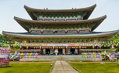 Yakcheonsa Buddhist Temple (malc1702) Tags: yakcheonsabuddhisttemple buddhisttemple temple building architecture placeofworship travel holiday vacation nikond7100 nikkor18140mm ngc flickrunitedaward