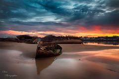 fli-6 (6) (svenvenus1) Tags: epave bateaux morbihan coque bzh bretagne lorient sunrise etel ria magouer boat