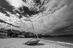 DSC01615 (Damir Govorcin Photography) Tags: boat clouds sand balmoral beach sydney water zeiss 1635mm sony a7ii