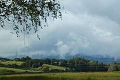 Approaching esky Krumlov 02 (smilla4) Tags: mountains mist clouds czechrepublic