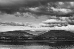 Loch Lomond - Glen Finlas (AdMaths) Tags: adammathesonphotography adammatheson lochlomondnationalpark lochlomond canon ixus ixus82is canonixus canonixus82is 82is compactcamera canoncompact compact benlomond johnmuirway johnmuir munro mountainbiking mountainbike cycling cycle mono monochrome blackwhite bw blackandwhite glenfinlas classic cloud