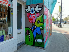 Lastplak & Friends - Middellandplein Rotterdam (oerendhard1) Tags: friends urban streetart art graffiti boat rotterdam kat die ominous sake characters das popeye pinwin lastplak oxalien middelllandplein
