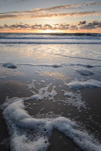 Sonnenuntergang am Wenningstedter Strand