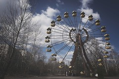 Ferris Wheel.... (Taken-By-Me) Tags: park urban abandoned wheel neglect dark amusement nikon closed decay empty exploring centre radiation nuclear ferris eerie ukraine creepy adventure explore takenbyme forgotten left derelict zone reactor chemical ue chernobyl urbex d610 pripyat