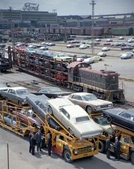 1965 What Ford models can you spot in this awesome shot taken at Rouge complex in May of 1965 (biglinc71) Tags: ford rouge this shot you awesome models may taken can spot what complex 1965