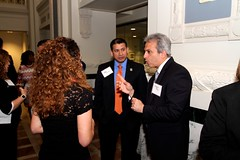 Networking at Hispanic Lifestyle's Kansas City Event