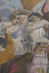 Piero della Francesca (Martin Beek) Tags: italy art painting geometry historic tuscany painter fresco arezzo bacci pierodellafrancesca basilicaofsanfrancescoinarezzo