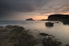 L'ltima de la sessi (Miguel ngel Var Giner) Tags: sunset horizontal ifach pasvalenci marinaalta calp capvespre penyal horitzontal ifac llargaexposici