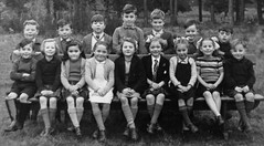 Dulnain, Scotland (theirhistory) Tags: uk school girls boys shirt kids shoes dress sandals tie skirt class jacket junior jumper form wellies primary bows rubberboots horts
