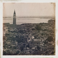 A View from St. Mark's Campanile, Venice, Italy (woody lauland) Tags: venice italy architecture italian italia cityscape view belltower campanile venetian venezia veneto